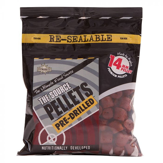 Dynamite 14mm The Source Pre Drilled Pellets - 350g