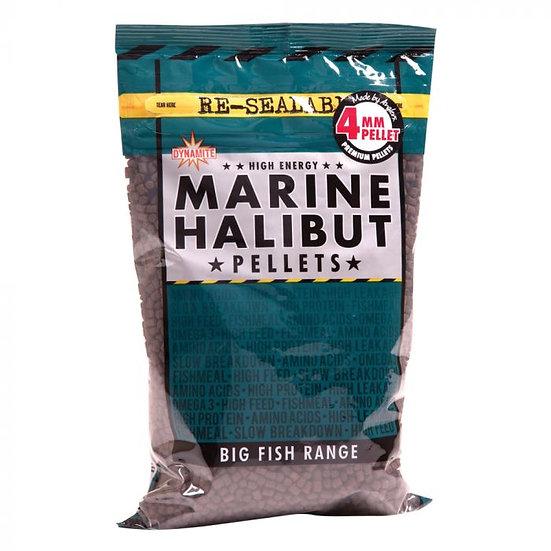 Dynamite 4mm Marine Halibut Pellets - 900g