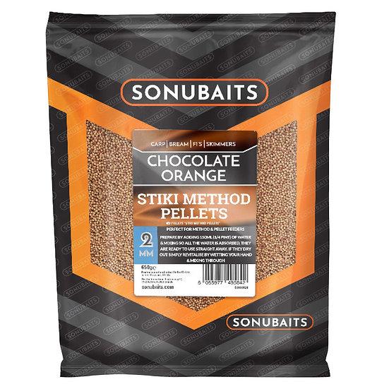 Sonubaits Stiki Method Pellets - Chocolate Orange - 650g