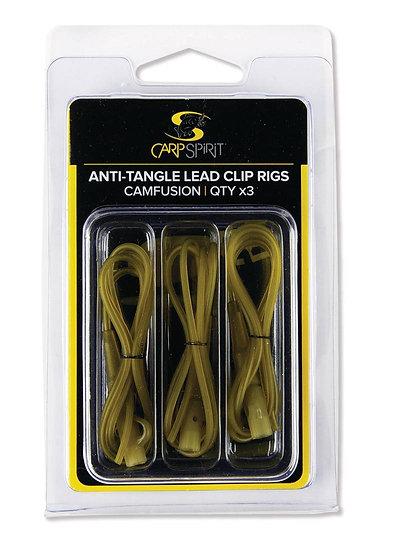 Carp Spirit Anti-Tangle Lead Clip Rigs