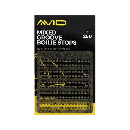 Avid Mixed Groove Boilie Stops