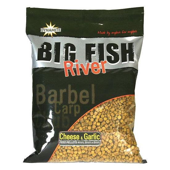 Dynamite Big Fish Cheese & Garlic Pellets - 4, 6 & 8mm - 1.8kg