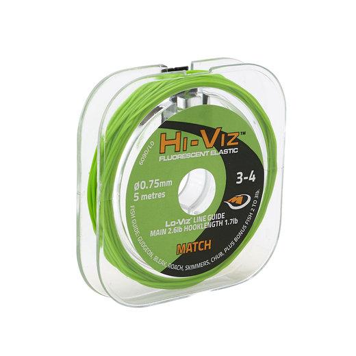Middy Hi-Viz Original Solid Elastic: 3-4 Match (Green)