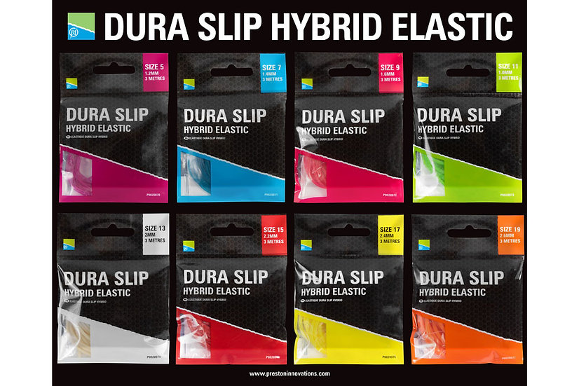 Preston Dura Slip Hybrid Elastic - 3m