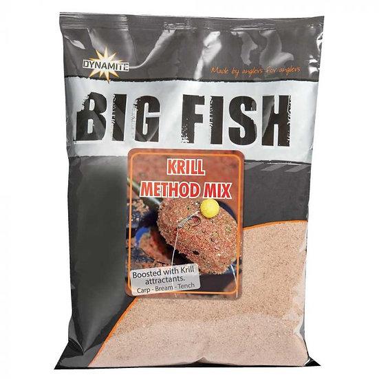 Dynamite Krill Method Mix Big Fish Groundbait - 1.8kg