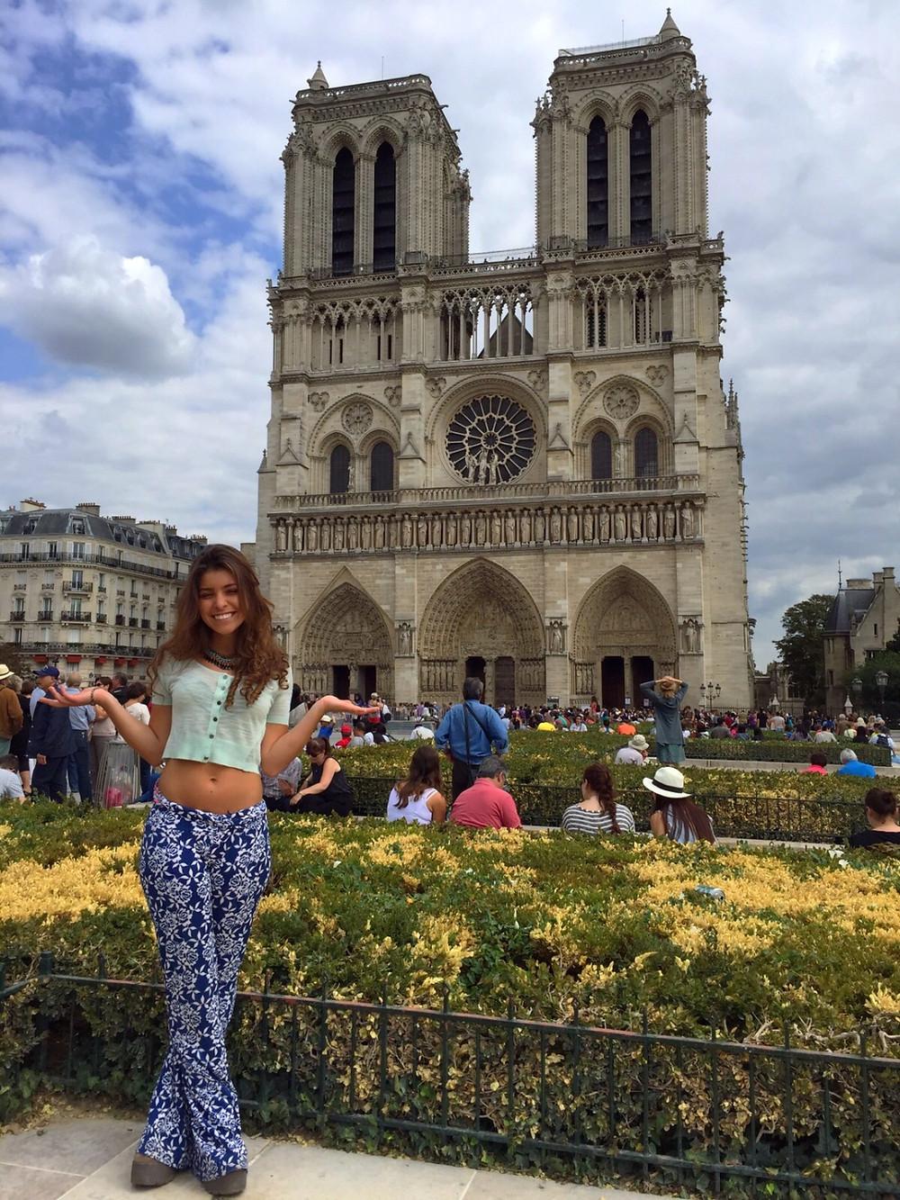 Cuando no puedes más de felicidad-Notre Dame