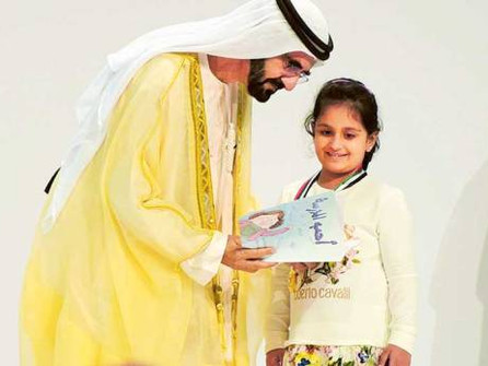 Shaikh Mohammad Bin Rashid honours pioneers of reading