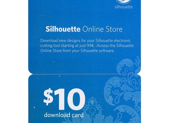 Carte de téléchargement 10$