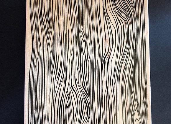 Tampon bois XL 12 x 14,5 cm