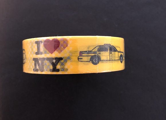 "Masking Tape ""I love New York"""