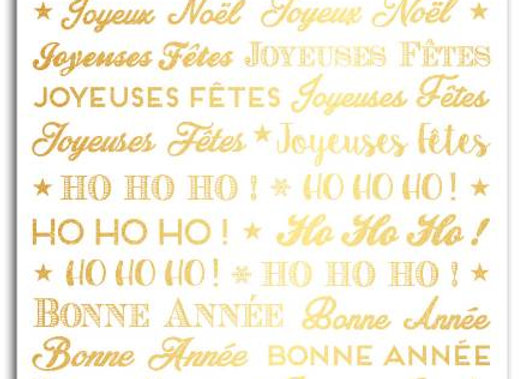 Transferts Noël dorés