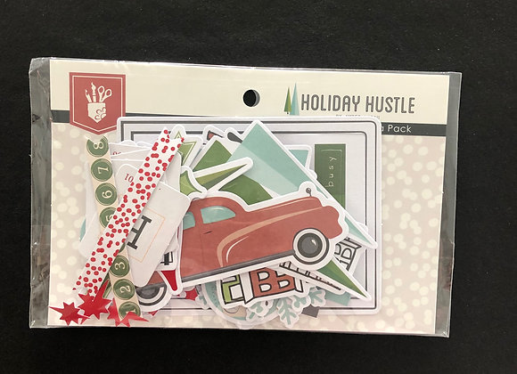 "Ephemera Pack ""Holiday Hustle"""