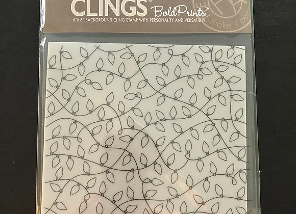 CLINGS Background Stamp