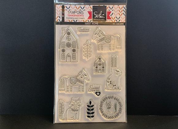 Sokai Tampons transparents Sweet Home