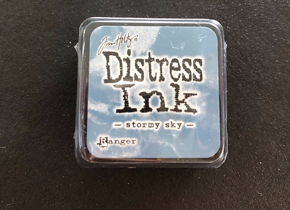 Distress Ink mini - stormy sky -