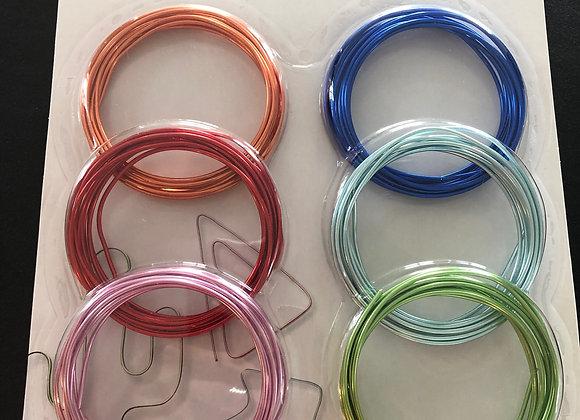 Emballage de fils différentes couleurs