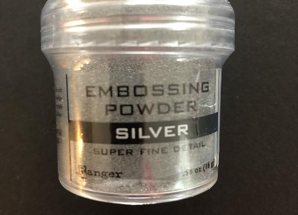 Poudre à embosser - silver