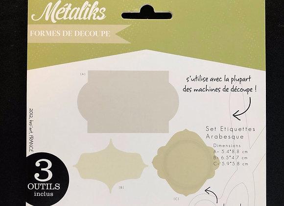 Métaliks - étiquettes