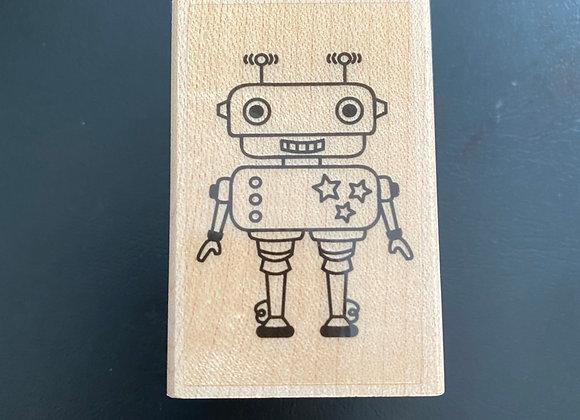Tampons bois Robot