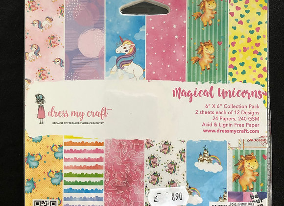 Magical Unicorns Paper Pad