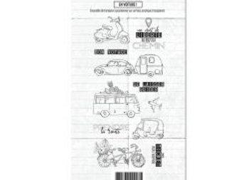 Tampon clear Carnet de route