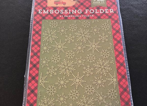 Embossing Folder - Flocons