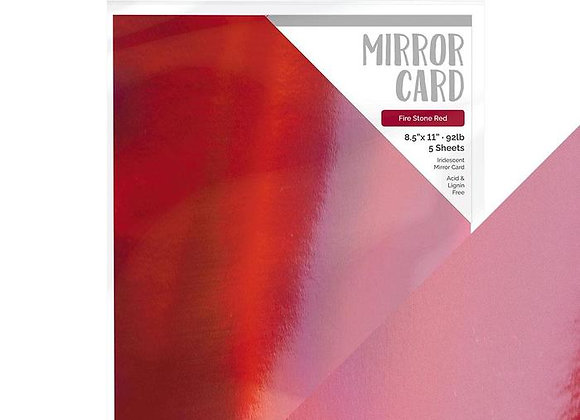 Mirror Card Ruby Red