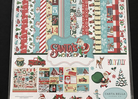Kit de papier Santa's Workshop