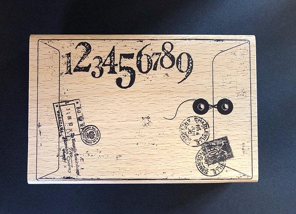 Tampon bois XL 10 x 15 cm