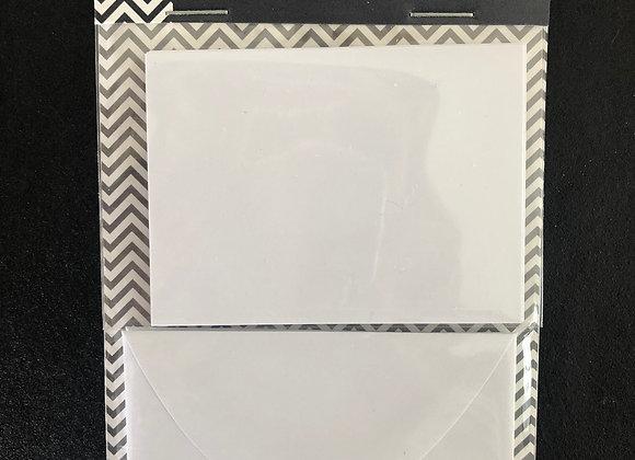 Mini cartes et enveloppes 4x TOGA