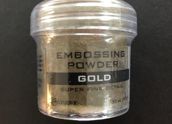 Poudre à embosser - or