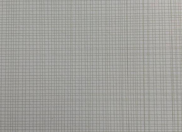 Papier 305 x 305 mm quadrillé gris