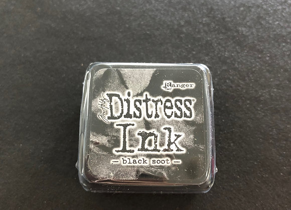 Distress Ink mini - black soot -