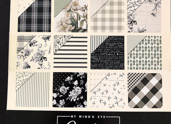 Gingham FARM Paper Pad