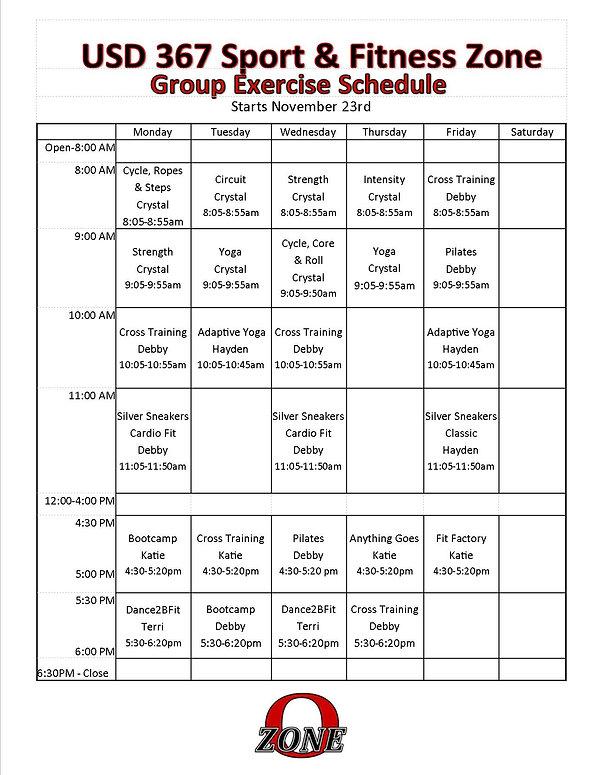 2020 November GE Classes and Description