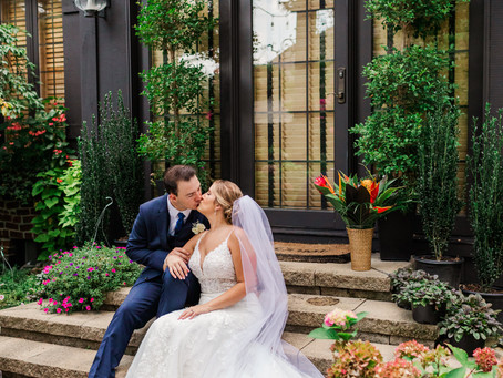 Mr. and Mrs. Bowyer- A summer wedding in Ann Arbor