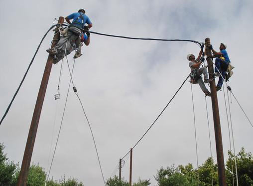 NTT Fiber-optic Repair - Okinawa