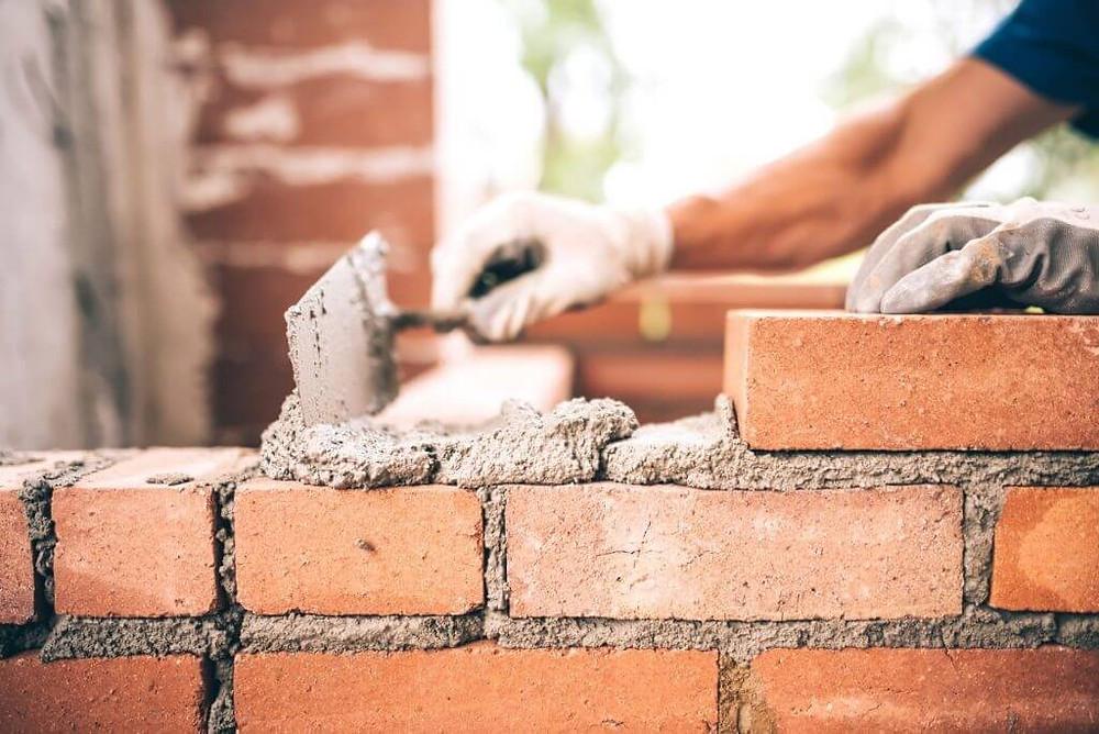 parede /muro alvenaria de vedação