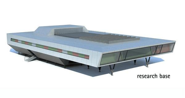 base na Antártida feita em containers