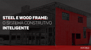 STEEL E WOOD FRAME