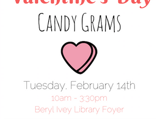 Valentine's Day Candy Grams