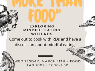 """More than food"" event"