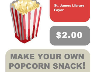 Make Your Own Popcorn Snack