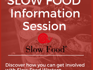 Slow Food Information Session