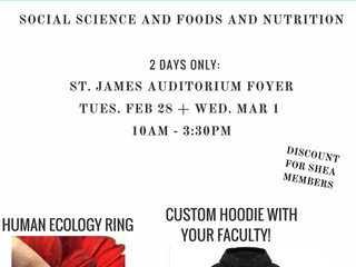 Faculty Sweaters and Human Ecology Ring Orders