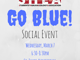 Go Blue Social Event