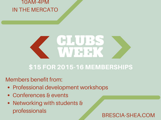 Clubs Week, Sept. 21-25