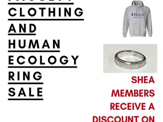 Faculty Clothing and Human Ecology Ring Sale!!!
