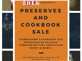 Preserves and Cookbook Fundraiser