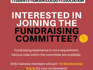 Fundraising Committee Recruitment